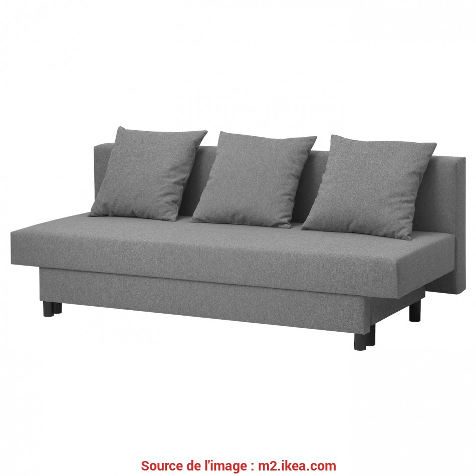 Magnifico Three-Seat Sofa-Bed ASARUM Grey