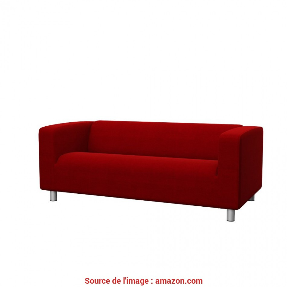 Confortevole Amazon.Com: Soferia, Replacement Cover, IKEA KLIPPAN 2-Seat Sofa, Elegance Red: Home & Kitchen