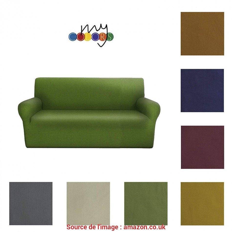 Bello Euroricami Viterbo Sofa Armchair Stretch My Colors Copridivano 3 Posti, 170 A, Cm): Amazon.Co.Uk: Kitchen & Home