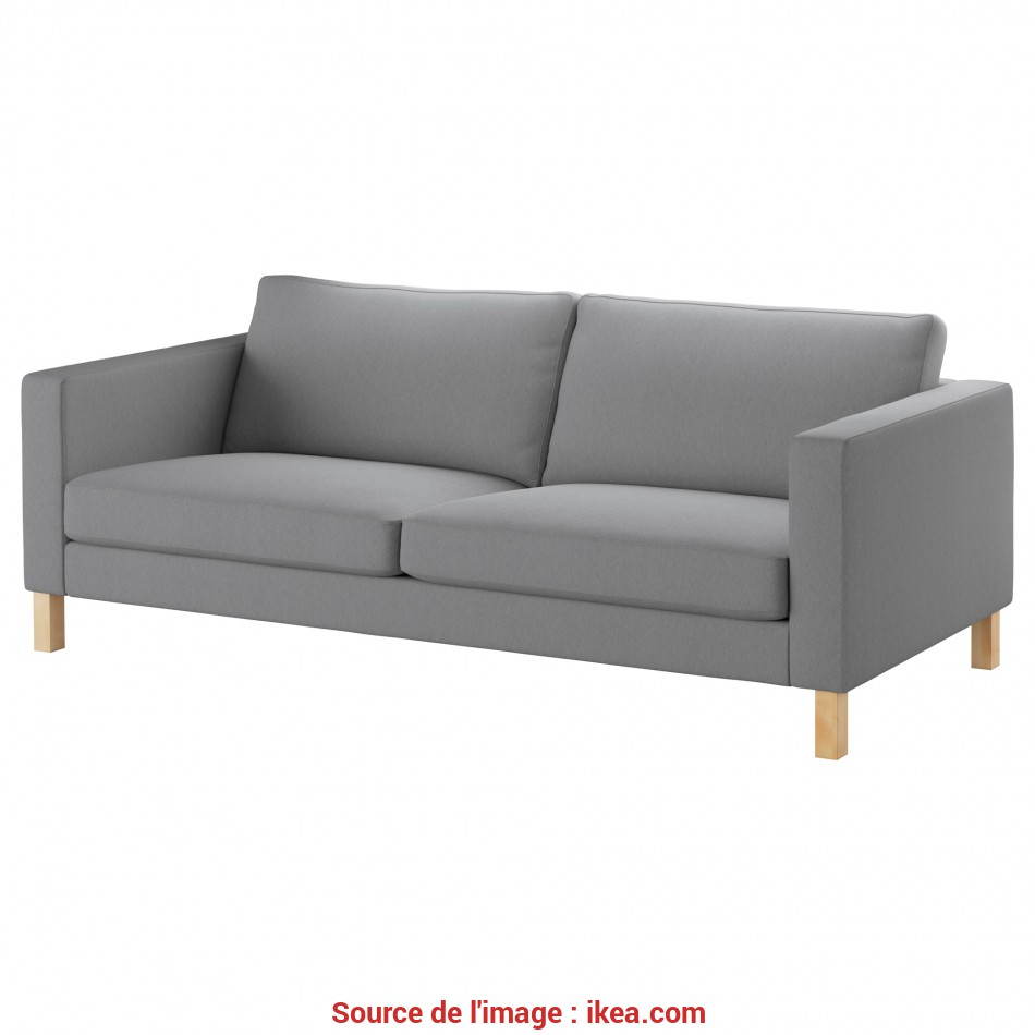 Elegante KARLSTAD Sofa, Knisa Light Gray