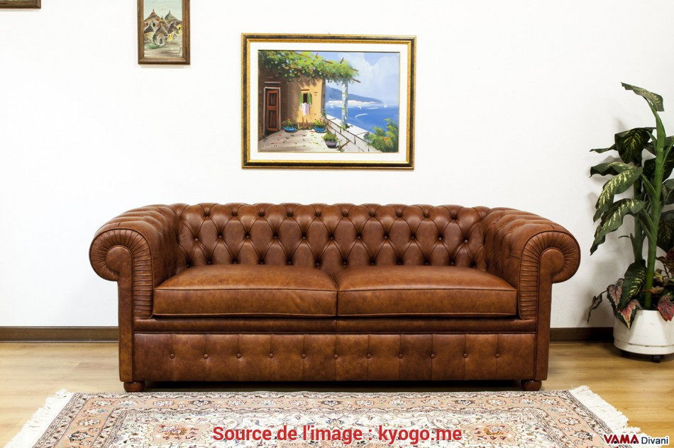 Bello Full Size Of Divano: Divano Pelle Marrone Divano Pelle Marrone Divano Chesterfield 2 Posti Large