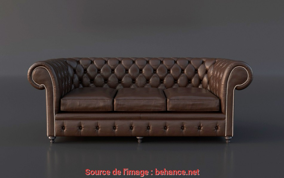 Fresco FREE Chesterfield Couch 3D Model On Behance