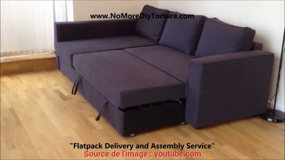 Fresco IKEA Manstad Corner Sofa-Bed With Storage V2