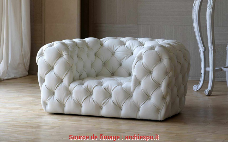 Ideale Poltrona Chesterfield / In Pelle, CHESTER MOON By Paola Navone