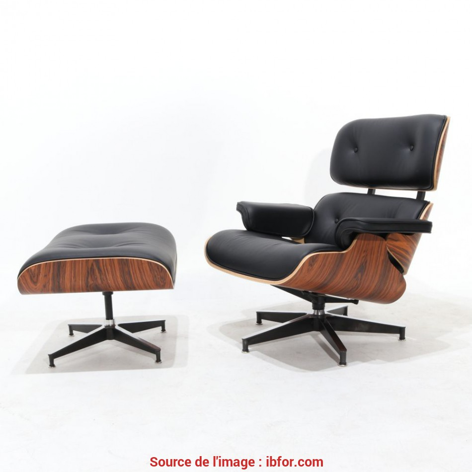 Eccezionale LOUNGE ARMCHAIR WITH FOOTSTOOL