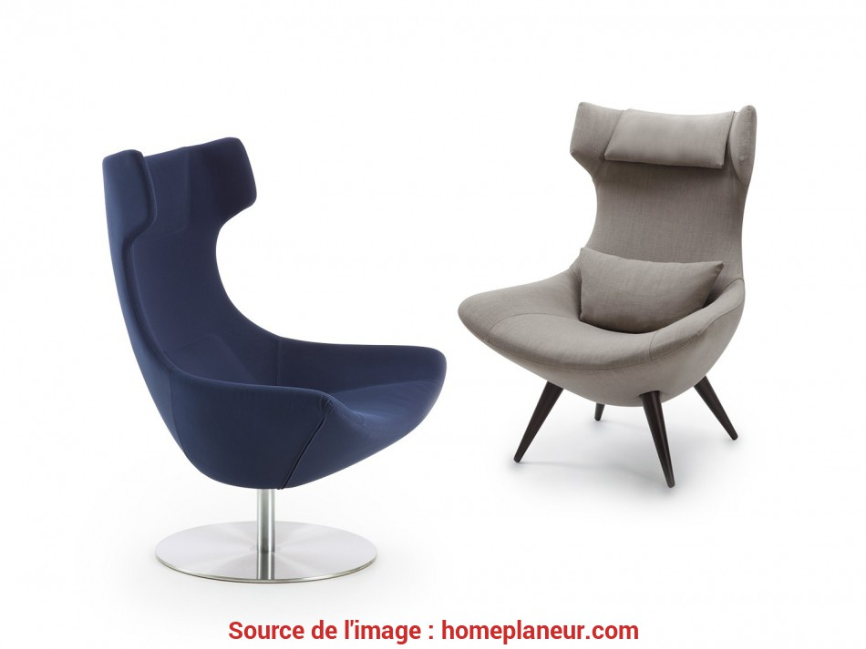 Stupefacente Olivia Retro Swivel Armchair Matched With, Version With Four Legs
