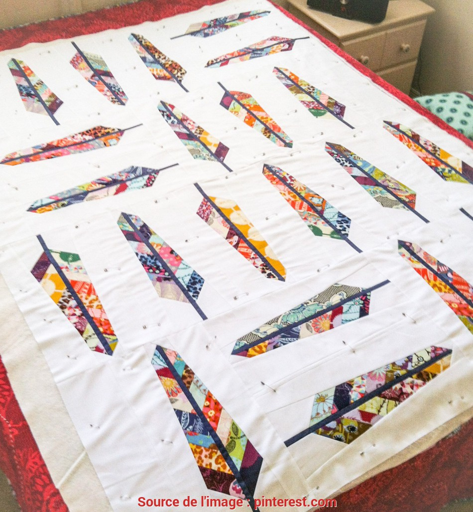 Stupefacente Feather Cutting Tutorial + Giveaway!, Quilting Obsession, Quilts