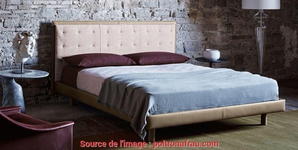 Trending Grantorino Coupe', Bed By Jean-Marie Massaud, Poltrona Frau
