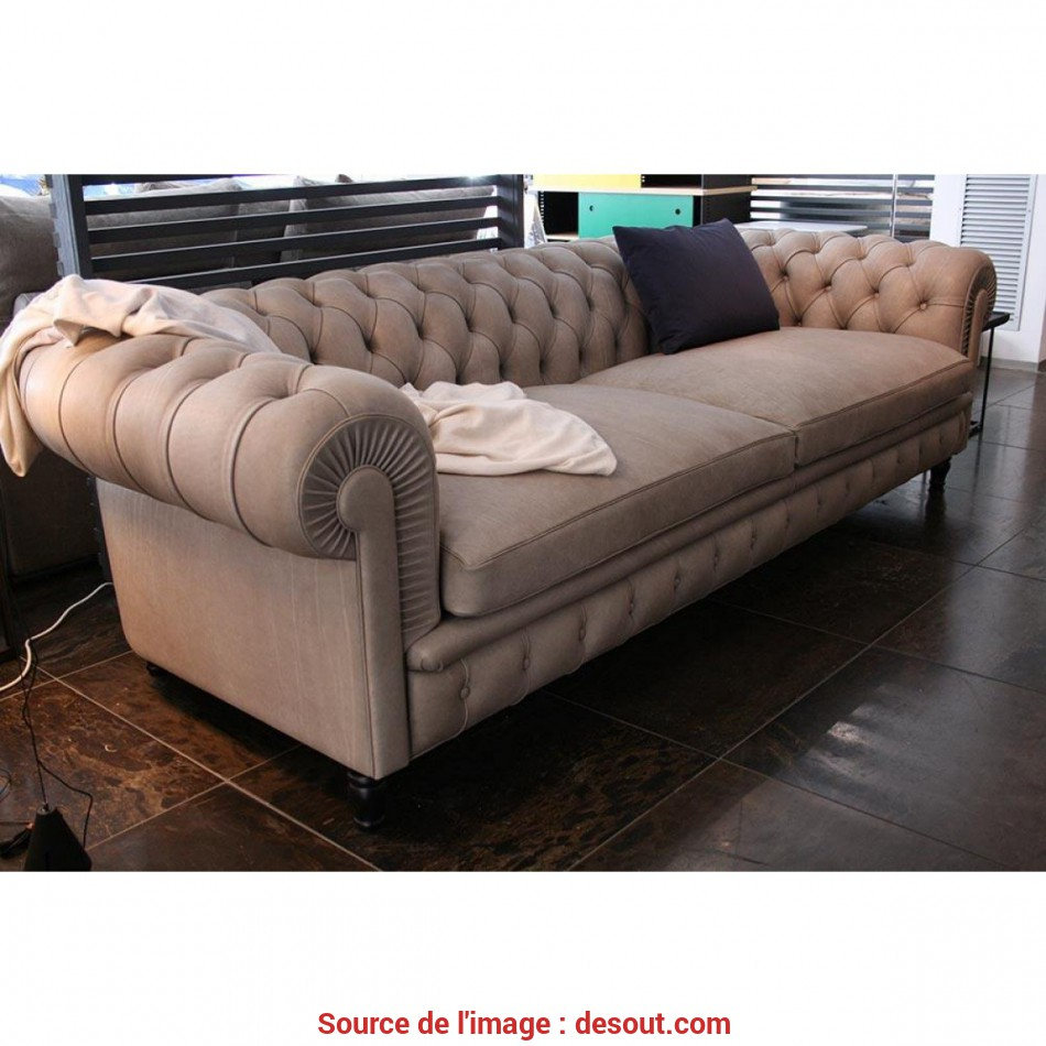 Fantastico ... Poltrona Frau Chester, Sofa Leather Smokey Soul