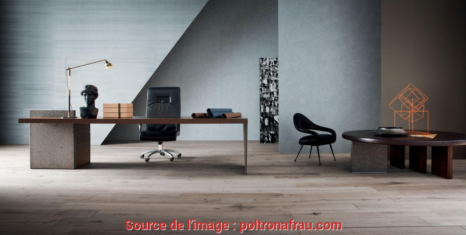 Perfezionare H_O Desk Office Furniture By Claudio Silvestrin, Poltrona Frau