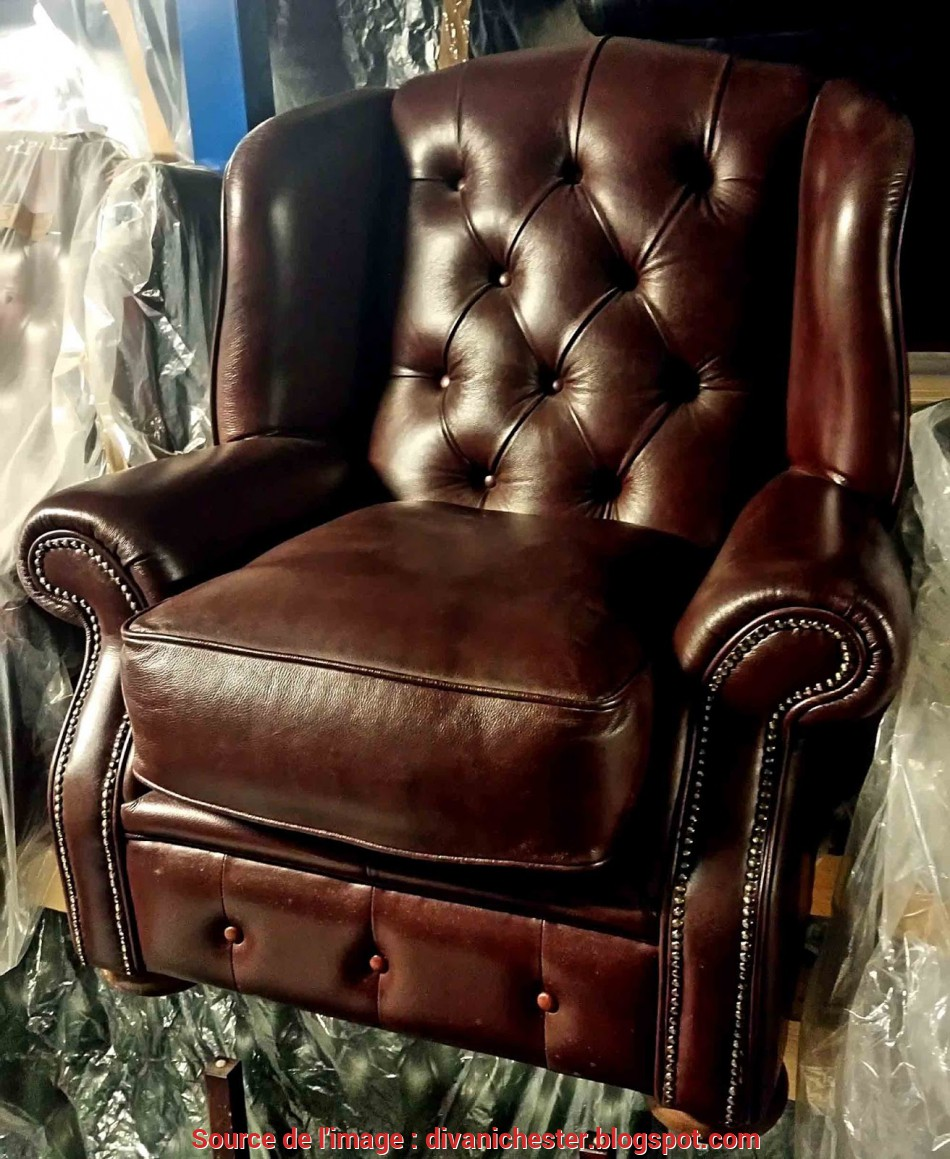 Poltrone Chesterfield Vintage.Bello Poltrone Chesterfield Usate In Pelle Vintage In Ottime