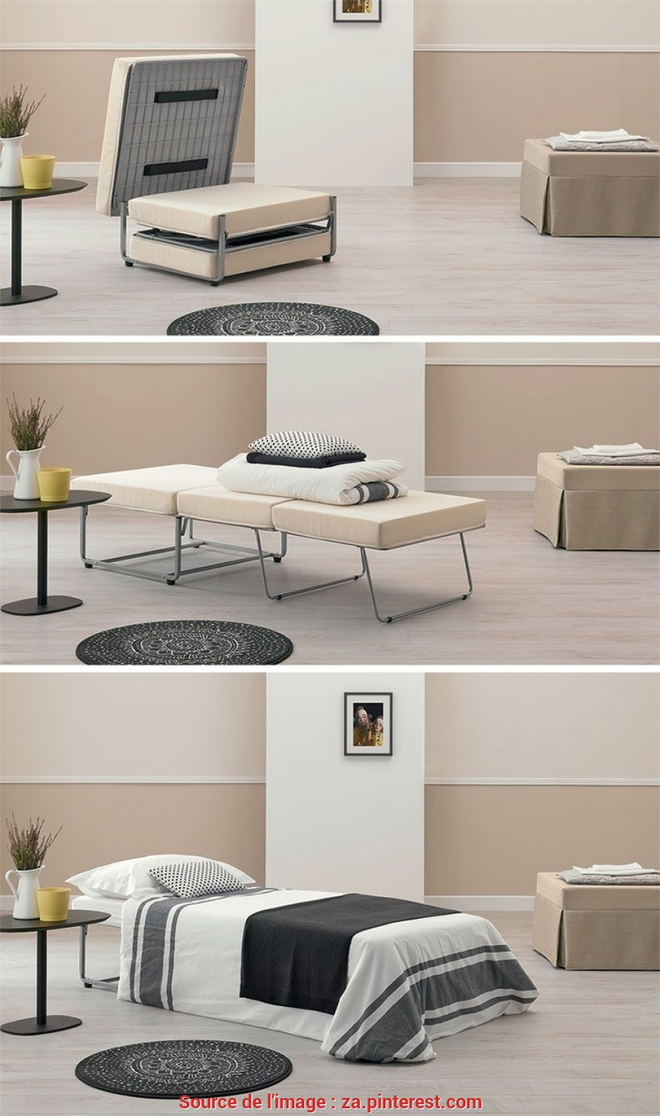 Eccezionale Pouf Letto, Furniture, Pinterest, Folding Beds, Hotel Bedrooms