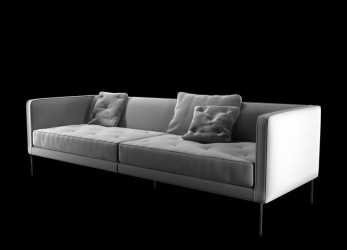 Esotico Sofa Cleared Relax 3D 3Ds