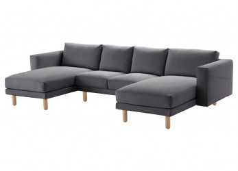 Originale Divani Rattan Ikea Excellent Luxury Curved Sectional Sofa, Top Ikea Norsborg Seat Sofa Year Guarantee