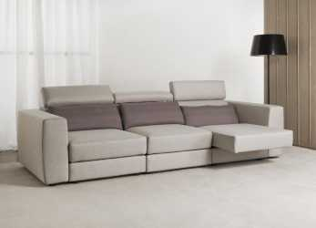 Premio Contemporary Sofa / Fabric / Reclining, RELAX, Divani Santambrogio