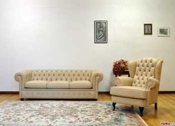 Esotico Types Of Upholstery, Chesterfield Sofa