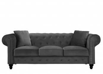 Eccezionale Divano Roma Chesterfield Sofa : Divano Roma Furniture Classic Velvet Scroll, Tufted Button