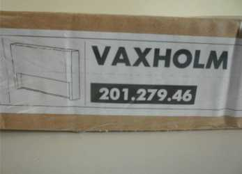 Bello IKEA Vaxholm Slip Cover 201.279.46 Cover Only BNIB NEW: Amazon.Co.Uk: Kitchen & Home