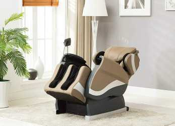 Ideale Amazon.Com: Divano Roma Furniture Relax Reclining Massage Chair- Zero Gravity Reclining Full Body Massage Chair (Tan): Kitchen & Dining