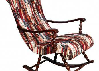 Elegante Details About POLTRONA SEDIA A DONDOLO IN NOCE TORNITO Victorian Turned Rocking Chair, MA S52