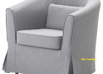 Stupefacente Details About Ikea EKTORP TULLSTA Chair Armchair Cover Slipcover NORDVALLA MEDIUM GRAY Sealed!