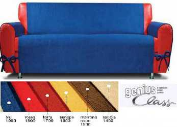 Più Recente Details About Slip-Cover With Flakes. GENIUS CLASS, CLARKY Biancaluna Sofas Da, 3 Seater
