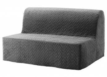 Originale LYCKSELE LÖVÅS Sleeper Sofa, Ebbarp Black/White