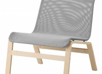 Minimalista NOLMYRA, Chair, Birch Veneer, Gray