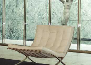Nuovo Barcelona Chair, Mies, Der Rohe, Design & Architecture World