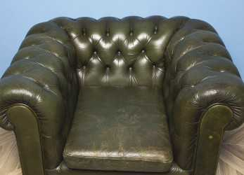Superiore Poltrona Chesterfield Verde