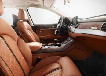 Migliore Audi A8 Exclusive Concept Special Edition Gets Special Leather From Poltrona Frau