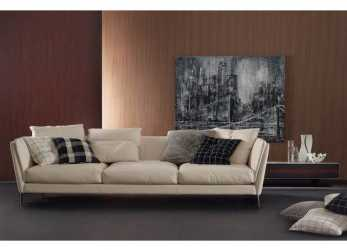 Preferito Bretagne 3 Seater Sofa By Poltrona Frau. Design By R. & D. Frau Shop Online On CiatDesign