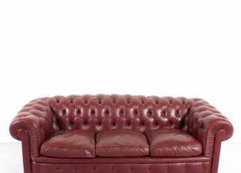 Fantastico Poltrona Frau 'Chester One' Chesterfield Sofa By Renzo Frau, 1912