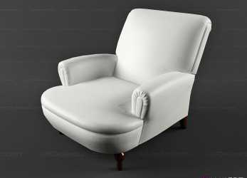 Esotico Classic Chair Chaise Eleonora » 3D Model Armchair » 3D Furniture