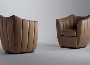 Meraviglioso Poltrona Frau Willy, Armchair, Deplain.Com