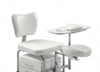 Nuovo POLTRONA PODOLOGICA PEDICURE ESTETICA MASSAGGIO PIEDE LETTINO Mail Unghie Manicure (Bianco): Amazon.It: Bellezza