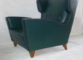 Sbalorditivo Poltrona Anni '50, Armchair, Fauteuil, 50S, Vintage,, Ponti,Cassina