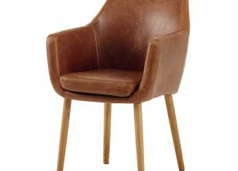 Esperto Vintage Armchair In Brown Davis