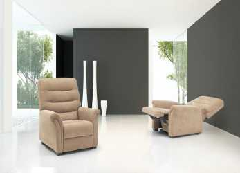 Fantastico Poltrone Relax Torino 100% Made In Italy