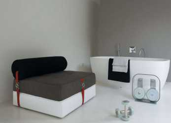 Elegante Poltrona Letto, Design Contemporaneo