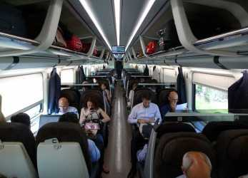 Meraviglioso Standard Class Seats On A Frecciarossa From Rome To Florence & Milan
