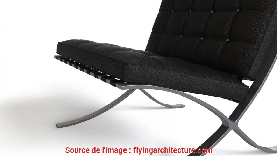 Superiore Barcelona Chair, FlyingArchitecture