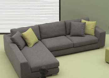Antico Sofa With Chaise Longue