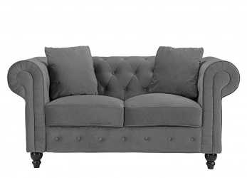 Speciale Details About Divano Roma Furniture Classic Modern Scroll, Velvet Chesterfield Love Seat