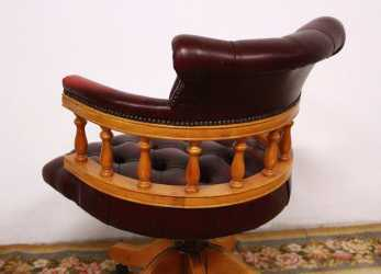 Stupefacente Captain Chester / Chesterfield Armchair Chair In Original English