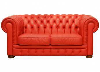 Lussuoso Wonderful Italian, Leather Chesterfield Sofa In, Style Of Poltrona Frau At 1Stdibs