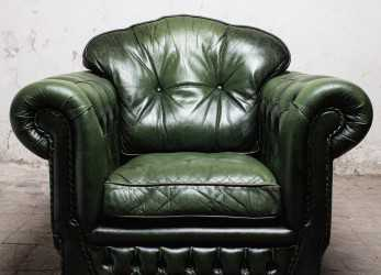 Bello Poltrona Chesterfield Verde