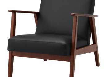 Semplice IKEA EKENÄSET Armchair, Sit Stable, Steady Since, Frame Is Made Of Solid Wood