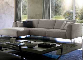 Antico Dudy Sectional By Chateau D'Ax, Italy. Shown In Fabric. Visit Website, Customization Options
