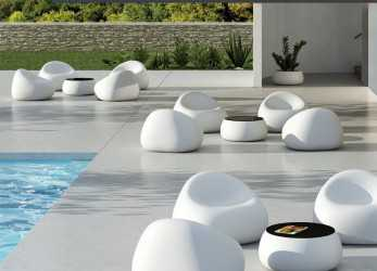 Freddo Original Design Armchair / Polyethylene / Commercial / Outdoor, GUMBALL By Alberto Brogliato